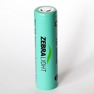ZL634 3400mAh 18650 Protected Li-ion Battery (ship to US customers only)
